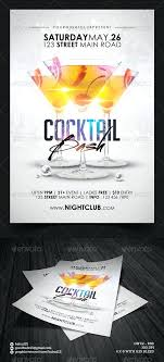 Birthday Invitation Flyer Template Custom Cocktail Party Flyer Template Cocktail Island Party Flyer Template