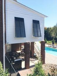 Marvelous The Functional Exterior Shutters Can Even Protect Your Windows And Home  From Severe Weather. The Louver Shop · Beach House Window Treatments