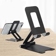 Foldable & Rotatable Metal <b>Aluminum Alloy Phone</b> Holder Universal ...