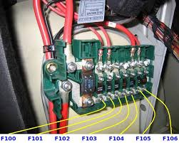 picture amperage description of every single fuse relay in f107 50a sas airpump special fuse bmw pn 6113836590 rdl says it s the secondary air relay fuse