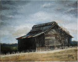paintings from the united states old tennessee barn