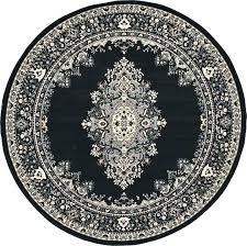 large circle rug black circle rug main image of rug black circle rug large white round