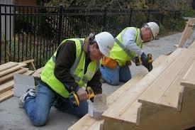 Volunteering at Habitat's CEO Build - The Opus Group