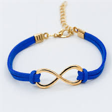 l103 hot ing new 2018 fashion girl jewelry vintage infinity metal 19 colors leather bracelets for women bangle whole in charm bracelets from jewelry