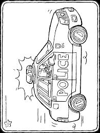 Politieauto Kiddicolour