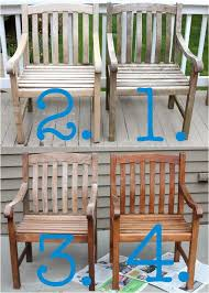 4a4ed c32c cb ba72 painted teak outdoor furniture refinish chairs wood