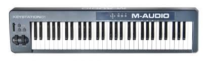 <b>MIDI</b>-<b>клавиатура M-AUDIO KEYSTATION</b> 61es купить в магазине ...