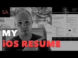 My IOS Developer Resume Example And Review YouTube Cool Ios Developer Resume