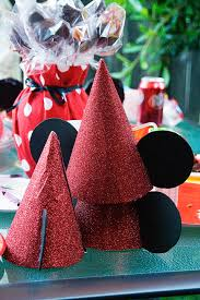 i made these mickey mouse hats