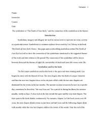 ivan ilyich essay argumentativemeaning x fc com  ivan ilyich essays and papers
