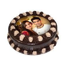 photo cake chocolate truffle