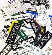 50 Bike Stickers Grab Bag Worlds Best Bike Stickers