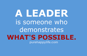 Funny Leadership Quotes Extraordinary Leadership Quote A Leader Is Someone Who Demonstrates