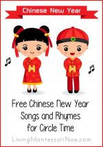 Small Picture Free Hanukkah Songs and Rhymes for Circle Time