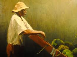 the coconut vendor oil 1976 was painted during the time al sprague