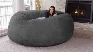 giant bean bag furniture. Chill Sack Bean Bag Chair For Giant Furniture DudeIWantThatcom