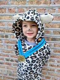 diy kids cheetah costume