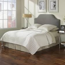 Grey Upholstered Headboard Wood Frame Ideas And Headboards Designs