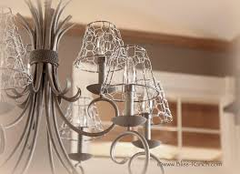 en wire light shade covers bliss ranch