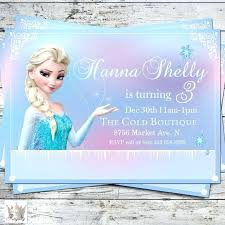 elsa birthday invitations frozen birthday invitations frozen party invites and other frozen
