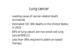 treatment of non small cell lung cancer erlotinib or gefitinib lung cancerbull