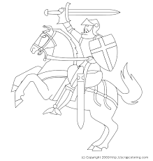Small Picture Knight Horse Coloring Pages Projects to Try Pinterest Knight