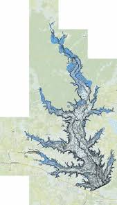 Lake Conroe Nautical Chart Conroe Fishing Map Us_tx_conroe Nautical Charts App