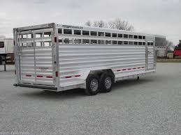 fl45668 2017 featherlite 7x24 8127 stock trailer for in 4 state trailers 2017 7x24 8127 stock trailer livestock trailer by featherlite fairland oklahoma