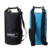 10L 20L <b>Outdoor</b> River trekking bag Dry Bag Double shoulder straps ...