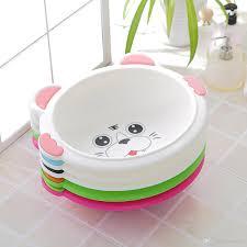 2018 baby tub cute baby bath plastic child thickening large baby bath tub newborn bath basin from tusunny 19 75 dhgate com