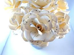 Paper Flower Lyrics Paper Flowers With Wedding Song Lyrics Wedding Song Gift Origami