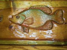 on wood carved fish wall art with hand carved wood fish wall art