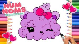 Num Noms Berry Puffs Coloring Page How To Draw Num Noms