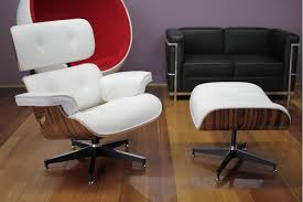 replica eames lounge chair and ottoman black. image of: eames lounge and ottoman white replica chair black a