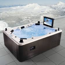 multi function fantastic hot jacuzzi tub with tv