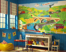 Thomas The Train Growth Chart Thomas The Train Growth Chart Colorful Kids Rooms