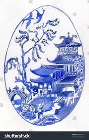 Blue Willow Pattern Cool Inspiration