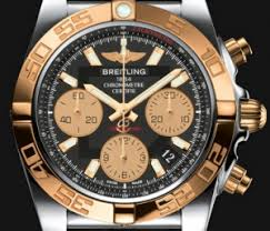 Uk 41 For Breitling Replica Chronomat Rose Men's Sale Cheap Gold Watches