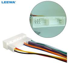 leewa car radio stereo wiring harness adapter plug for hyundai ix35 leewa car radio stereo wiring harness adapter plug for hyundai ix35 elantra santa fe