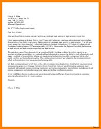 Creative Cover Letter Sample Legal Assistant For Your Law Classic