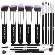 bs mall tm makeup brushes premium 14 pcs synthetic foundation powder concealers eye