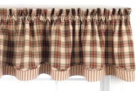 Park Designs Curtains And Valances Park Designs Cinnamon Layer Valance 72 X 16