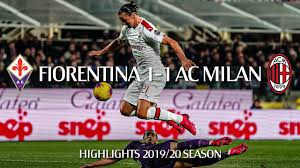 Highlights | Fiorentina 1-1 AC Milan | Matchday 25 Serie A TIM 2019/20 -  YouTube