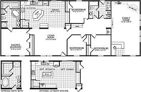 double wide mobile home floor plans. Wonderful Plans Floorplan Of Model 7988 With Double Wide Mobile Home Floor Plans M