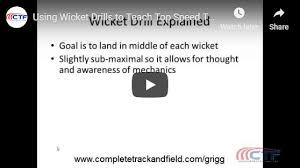 Teaching Maximum Velocity Wicket Drills Track And Field
