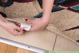 image titled clean a carpet without a vacuum step 5