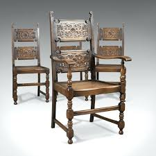dining chairs dining chairs oak set of 4 antique c legs dining chairs oak