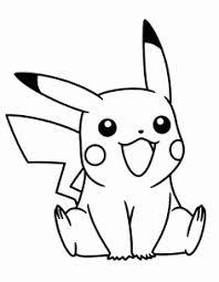 Kleurplaat Picachu Mooi 50 Desenhos De Pokemon Para Colorir Pintar