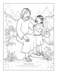 Jesus Loves The Children Coloring Page Loves The Little Children
