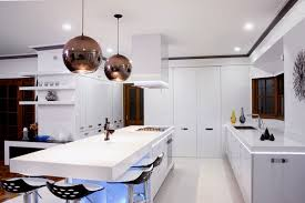 Drum Lights For Kitchen Kitchen Neat Interior Kitchen Idea With Matte Black Breakfast